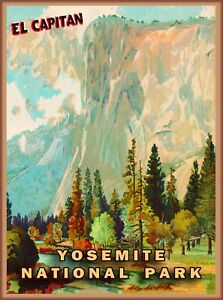 yosemite poster products for sale ebay