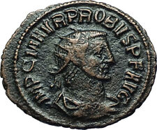 PROBUS w Woman Ancient 280AD Genuine Authentic Roman Coin from Antioch i66559