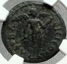 APHRODISIAS in CARIA 3CenAD Authentic Ancient Greek Coin BOULE & EROS NGC i68626