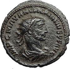 NUMERIAN w Carus VICTORY Globe Authentic Ancient 283AD Roman Coin Antioch i67269