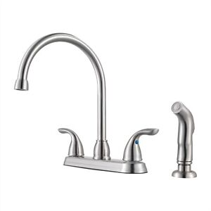 4 holes kitchen faucets for sale ebay
