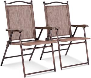 giantex steel patio chairs swings