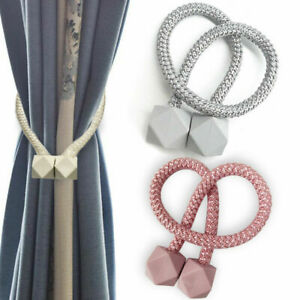 magnetic curtain tie backs for sale ebay