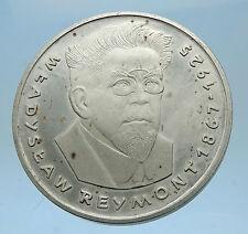 1977 POLAND Proof Silver Coin w NOBEL PRIZE Novelist Wladyslaw Raymont i68560