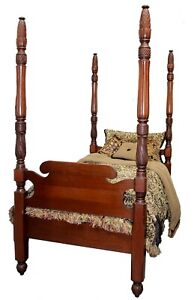 twin antique four poster beds sets for