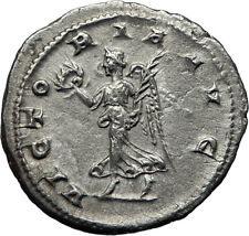GORDIAN III 238AD Silver Authentic Genuine Ancient Roman Coin Victory i70182