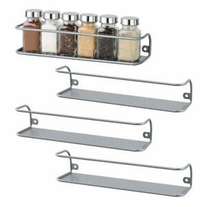 silver spice jars racks for sale ebay
