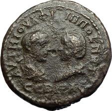 PHILIP I the Arab & Otacilia Severa Mesembria Thrace Roman Coin w HERMES i71062