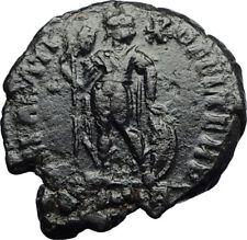 PROCOPIUS w Chi-Rho Original 365AD Usurper Authentic Ancient Roman Coin i71041
