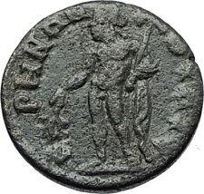 GETA Authentic Ancient Geuine Original Roman Coin THYATEIRA Lydia APOLLO i70787