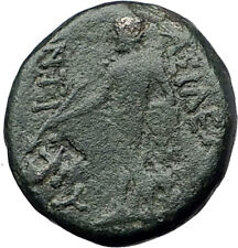 ANTIOCHOS III Megas 222BC RARE R1 Ancient Greek SELEUKID King Coin APOLLO i61573