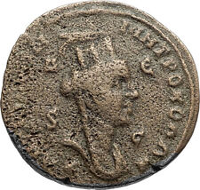 TRAJAN DECIUS Authentic Ancient 249AD Roman Coin of Antioch w TYCHE & RAM i67207