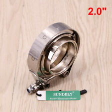 universal heavy duty exhaust clamp t304
