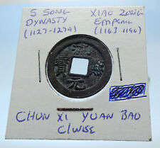 1163AD CHINESE Southern Song Dynasty Genuine XIAO ZONG Cash Coin of CHINA i72530