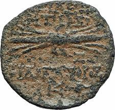 ANTIOCHOS IX Kyzikenos Authentic Ancient Seleukid Greek Coin Thunderbolt i75700