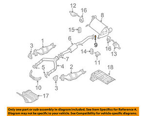 exhaust gaskets for infiniti g35 for