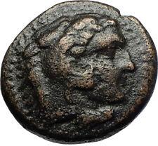 ALEXANDER III the GREAT 336BC Macedonia Ancient Greek Coin HERCULES CLUB i69720