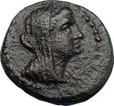 MARATHOS in PHOENICIA Authentic Ancient 221BC Greek Coin BERENIKE II ? i69180