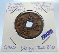 1195AD CHINESE Southern Song Dynasty Genuine NING ZONG Cash Coin of CHINA i71517