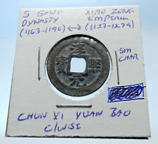 1163AD CHINESE Southern Song Dynasty Genuine XIAO ZONG Cash Coin of CHINA i72523