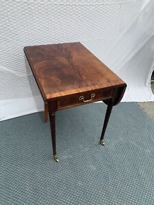 drop leaf side table in antique tables