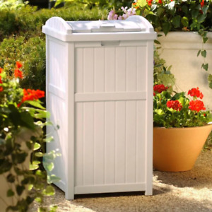 patio garbage can for sale ebay