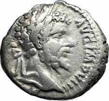 SEPTIMIUS SEVERUS sacrificing 193AD Authentic Silver Ancient Roman Coin  i76214