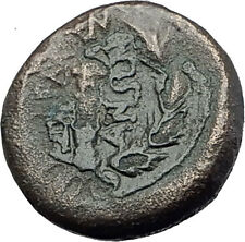 SARDES in Lydia 133BC Authentic Ancient Greek Coin APOLLO & HERCULES CLUB i62934
