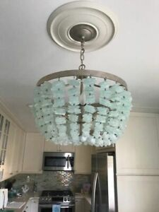 pottery barn bronze chandeliers for