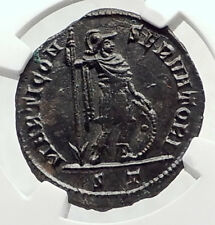 CONSTANTINE I the GREAT Authentic Ancient 312AD Roman Coin MARS NGC i72610