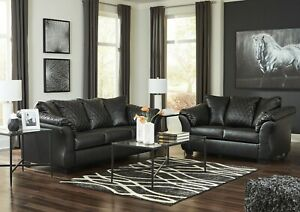ashley furniture faux leather sofas for