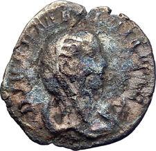 MARINIANA on Peacock wife of VALERIAN I 256AD  Ancient Silver Roman Coin i73393