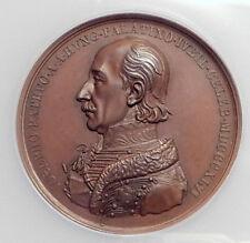 1846 AUSTRIA Ferdinand I & ARCHDUKE JOSEPH Hungary Palatine MEDAL NGC 73484