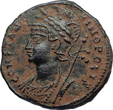 CONSTANTINE I the GREAT Founds Constantinople Original Ancient Roman Coin i67378
