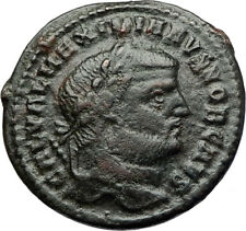 GALERIUS Follis BIG Authentic Ancient Genuine Original Roman Coin GENIUS i71089