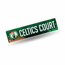 Rico Boston Celtics Official NBA 16 X 4 In. Plastic Street Sign