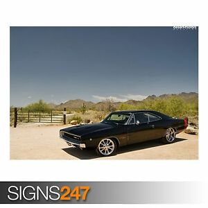 dodge charger poster for sale ebay