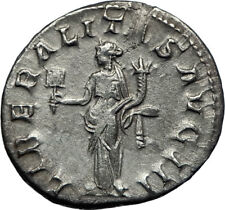 GORDIAN III 238AD Authentic Genuine Ancient Silver Roman Coin Liberality i70215