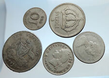 GROUP LOT of 5 Old SILVER Europe or Other WORLD Coins for your COLLECTION i74376