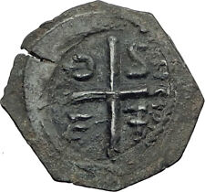 CRUSADERS of Antioch Tancred Ancient 1101AD Byzantine Time Coin St Peter i64468