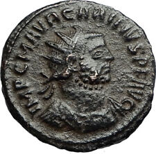 CARINUS w Carus on Authentic Ancient 283AD Genuine Roman Coin of Antioch i67234