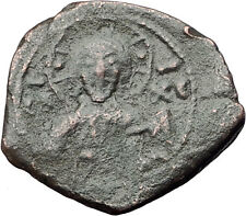 ALEXIUS I Comnenus Authentic Ancient Byzantine Coin with JESUS CHRIST i61588