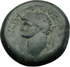 DOMITIAN 81AD Original Authentic Ancient Roman Coin Large SC of Antioch i64027