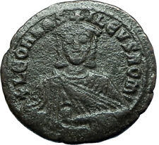 LEO VI the WISE 886AD Constantinople Follis Medieval Byzantine Coin i66078