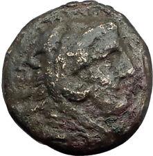 ALEXANDER III the Great 325BC Macedonia Ancient Greek Coin HERCULES CLUB i64579