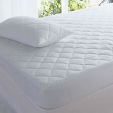Quilted Mattress Protector Topper Single Double King Super Small 4ft