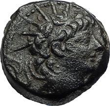 ALEXANDER II Zabinas 128BC Antioch Ancient Seleukid Greek Coin w ATHENA i67221