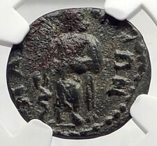 MAGNESIA ad SIPYLUM LYDIA Authentic Ancient Greek Coin ASCLEPIUS NGC i73116
