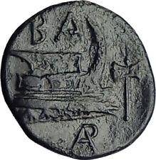 SELEUKOS I Nikator POSSIB UNBPUBL Ancient SELEUKID Greek Coin MEDUSA BULL i65107