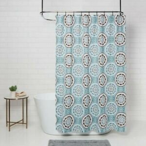 brown paisley shower curtains for sale